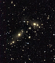 Cluster of galaxies CL0053-37 in NGC 300 field