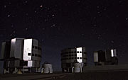 Evening at Paranal with AT1 and AT2