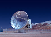 APEX telescope sees first light at Chajnantor