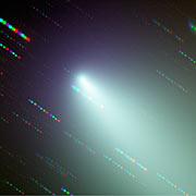 Fragmento B del cometa Schwassmann-Wachmann 3
