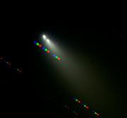 Broken fragments of Comet SW-3