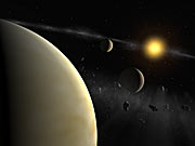 Planetary system around HD 69830