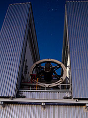 Das New Technology Telescope der ESO