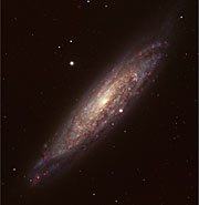 Twisted Spiral Galaxy NGC 134