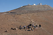 Quantum of Solace filming at Paranal