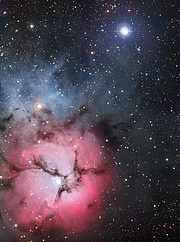 The Trifid Nebula (full frame)