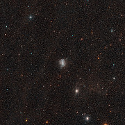 Digitized Sky Survey Image of the Galaxy NGC 6822