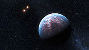 The system Gliese 667 (Artist's impression)