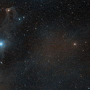A wide-field view of the sky around the young star T Cha
