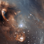 Close-up of the drama of star formation