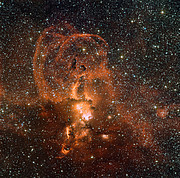Wide Field Imager view of the star formation region NGC 3582