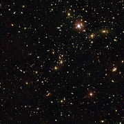 Pandora's Cluster (combined Hubble and VLT view)