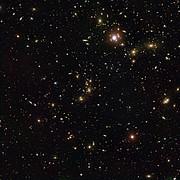 Cúmulo de Pandora— el cúmulo de galaxias en colisión Abell 2744