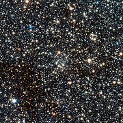 VISTA view of the newly discovered globular cluster VVV CL002 close to the centre of the Milky Way