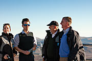 The Crown Prince Couple of Denmark during their visit to ESO's Paranal Observatory
