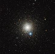 De bolvormige sterrenhoop NGC 6752