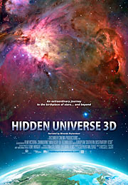 Plakat for IMAX® 3D-filmen 'Hidden Universe'