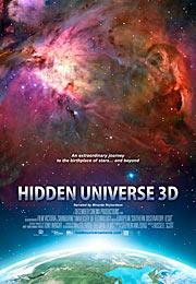 Poster pro 3D film 'Skrytý vesmír' pro formát IMAX