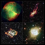 Ett galleri med bipolära planetariska nebulosor