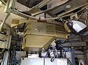 ArTeMiS-kameraets kryostat montert på APEX