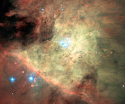 MUSE image of the Orion Nebula