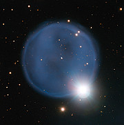The planetary nebula Abell 33 captured using ESO's Very Large Telescope