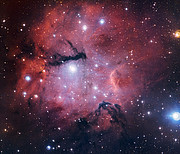 La zona di formazione stellare Gum 15