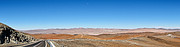 Vista panorâmica do Cerro Armazones a partir do Paranal