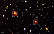 MUSE rækker længere end Hubble i Hubble Deep Field South