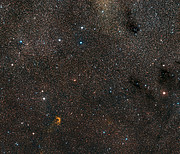 Wide-field view of the sky around Nova Vul 1670