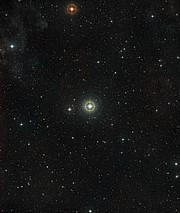 Vue à grand champ autour de l'étoile 51 Pegasi
