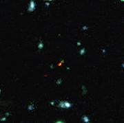 ALMA bevittnar en galax som bildas i det unga universum