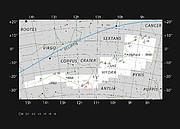 Положение планетарной туманности ESO 378-1 на небе