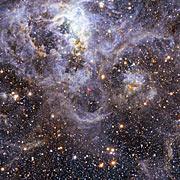 Die Position von VFTS 352 in der Großen Magellanschen Wolke