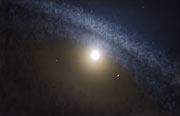 Představa přechodového disku kolem mladé hvězdy