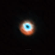 ALMA imaging of the transitional disc HD 135344B