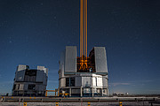 The most powerful laser guide star system in the world sees first light at the Paranal Observatory