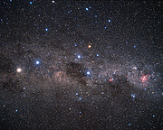 The brilliant southern Milky Way