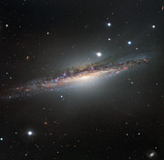 The edge-on galaxy NGC 1055