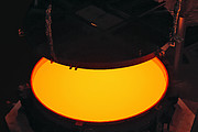 ELT secondary mirror blank successfully cast