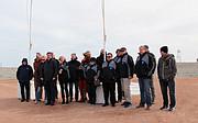 Personal de ESO junto con varios invitados en Cerro Armazones