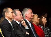 Invitados distinguidos durante la ceremonia de colocación de la primera piedra del ELT