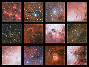 Highlights from huge VST nebula image