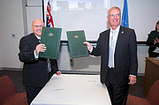 Australien unterzeichnet Vereinbarung mit ESO
