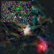 ALMA e Rosetta detectam freon-40 no espaço