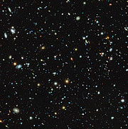 Hubble Ultra Deep Field sett med MUSE
