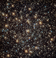Hubble image of the globular star cluster NGC 3201 (unannotated)