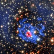 MUSE-Ansicht der Umgebung eines versteckten Neutronensterns in der Kleinen Magellanschen Wolke