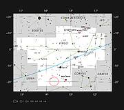 La nébuleuse planétaire ESO 577-24 dans la constellation de la Vierge