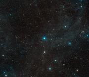 Surroundings of the star HR 8799